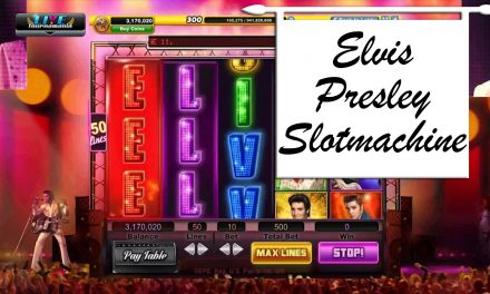 Over Elvis Presley Slotmachine van WMS